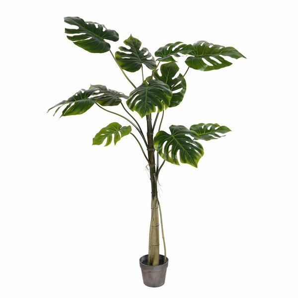Artificial Potted Grand Floor Foliage Tree in Pot by Bay Isle Home