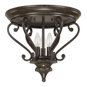 Maxwell 3-Light Flush Mount  sc 1 st  Wayfair & Capital Lighting | Wayfair azcodes.com