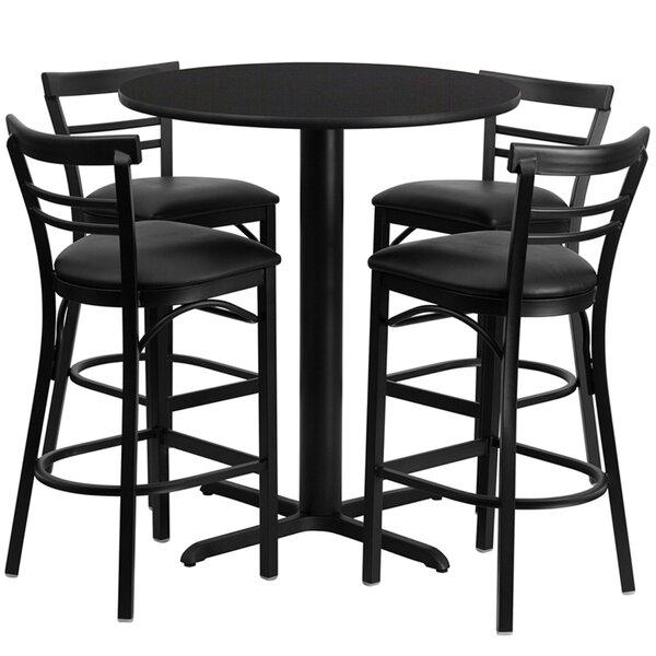 Lomonaco 5 Piece Pub Table Set by Winston Porter Winston Porter