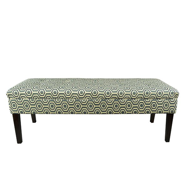 Laylah Upholstered Bench by Winston Porter