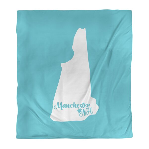 Manchester New Hampshire Duvet Cover