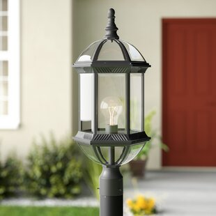 Reviews Bunker Hill 1-Light Post Light By Alcott Hill