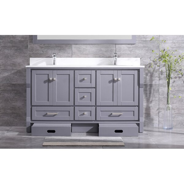 Swatzell 72 Double Bathroom Vanity Set by Winston Porter
