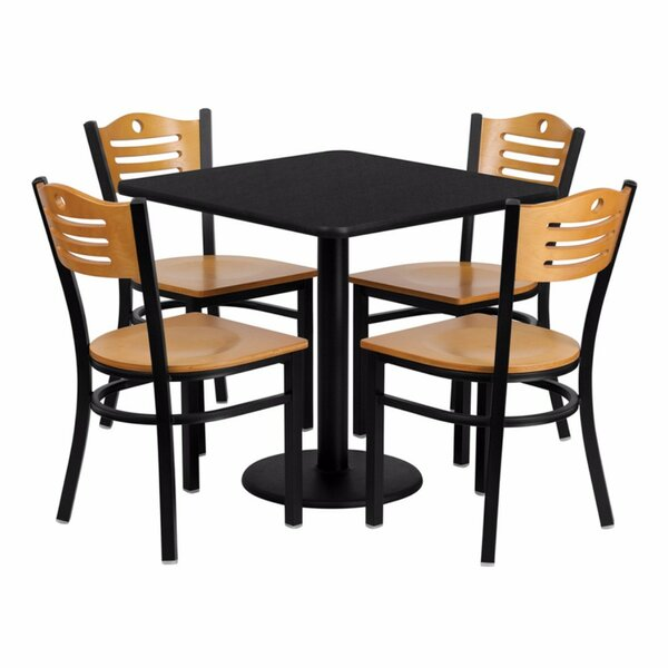 Princeton 5 Piece Dining Set by Red Barrel Studio