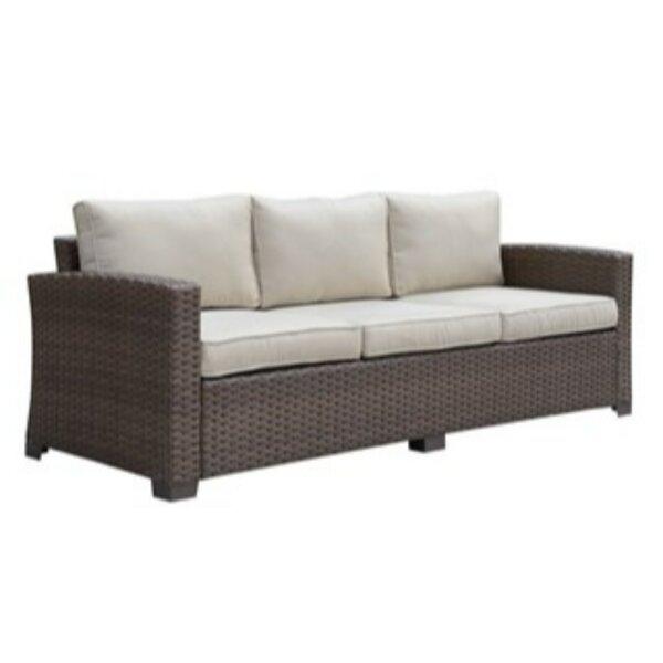 Sheard Patio Sofa with Cushions by Ivy Bronx Ivy Bronx