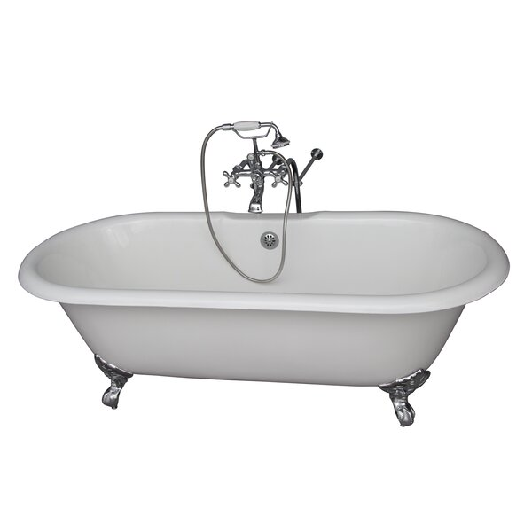 67 x 23.25 Soaking Bathtub Kit by Barclay