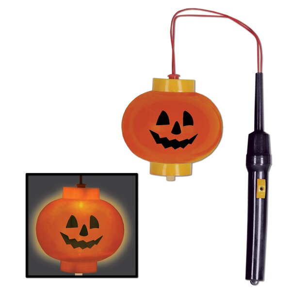 Halloween Light-Up Pumpkin Lantern (Set of 12) by The Holiday AisleHalloween Light-Up Pumpkin Lantern (Set of 12) by The Holiday Aisle