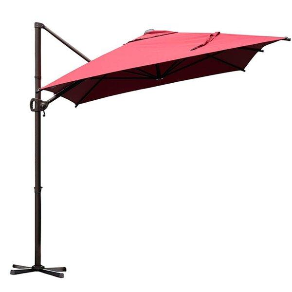 Walter 9' x 7' Rectangular Cantilever Umbrella by Canora Grey