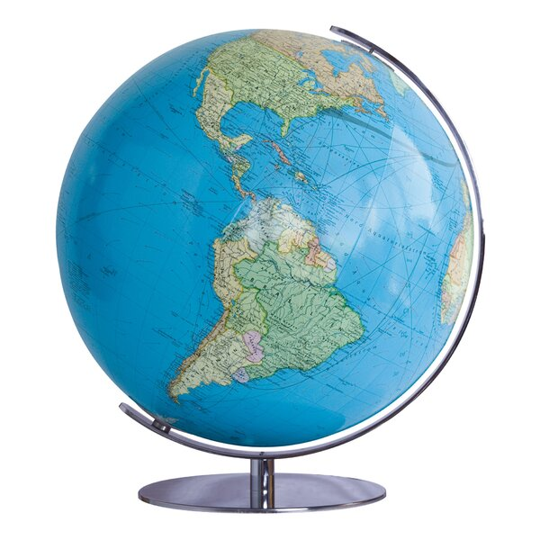 Heidelberg Illuminated Desktop Globe by Columbus Globe