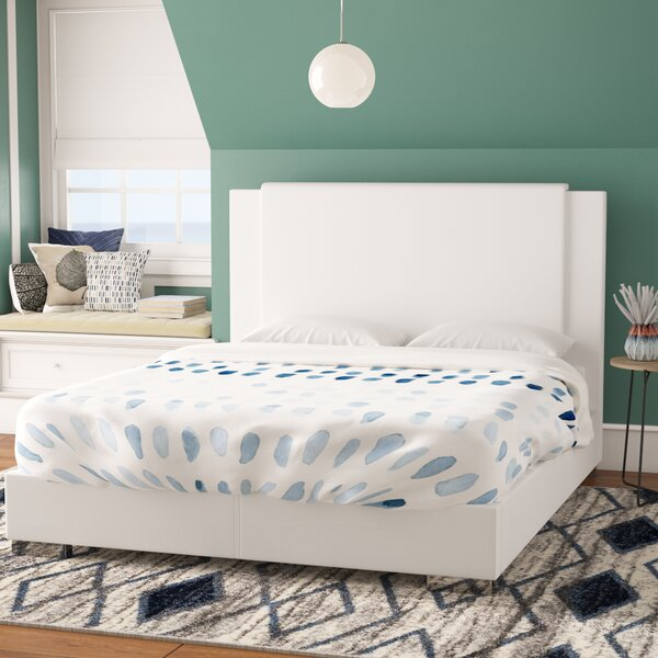 Conway Upholstered Platform Bed by Wade Logan