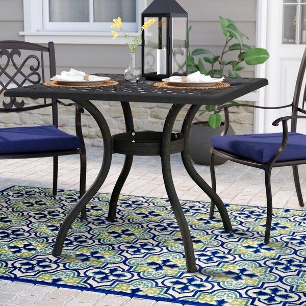 Agawam Metal Dining Table By Fleur De Lis Living