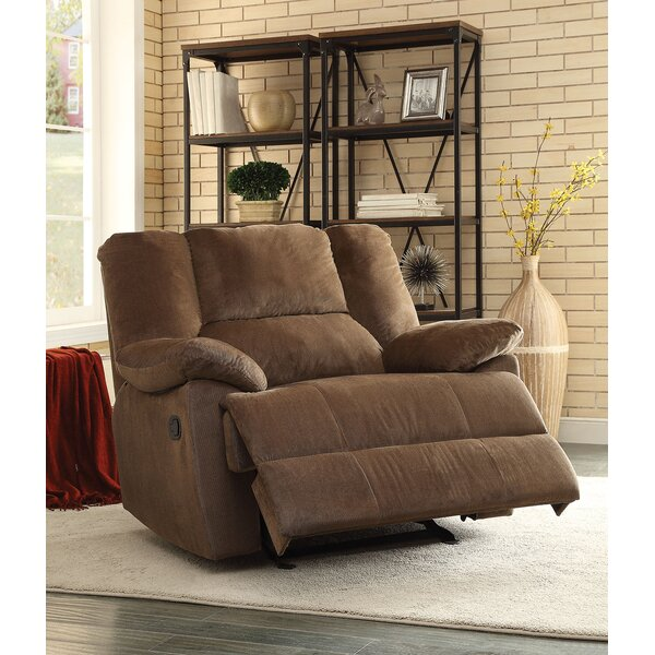 Memory Manual Glider Recliner by A&J Homes Studio