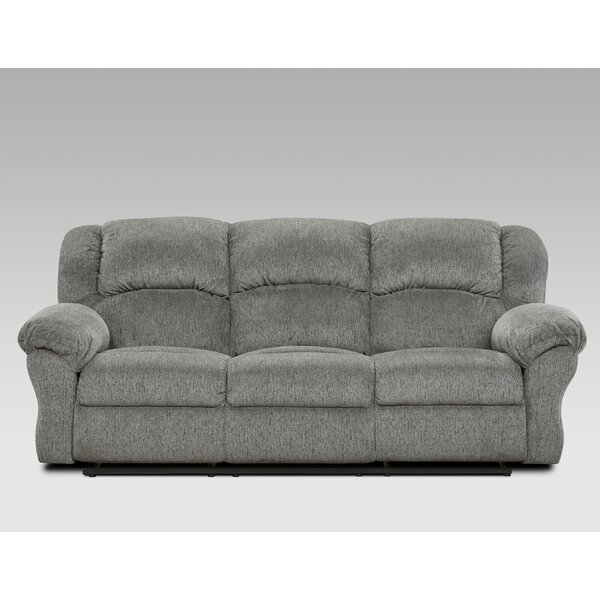 Cheapest Price For Thomason Reclining Sofa by Canora Grey by Canora Grey