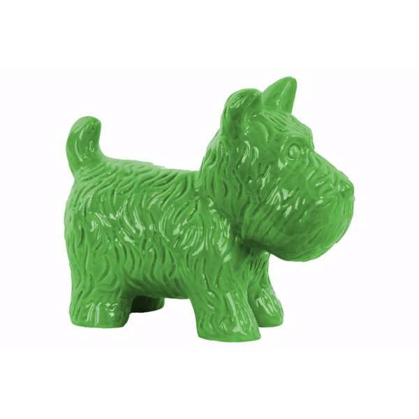 Lossett Standing Welsh Terrier Dog Figurine by Wrought Studio