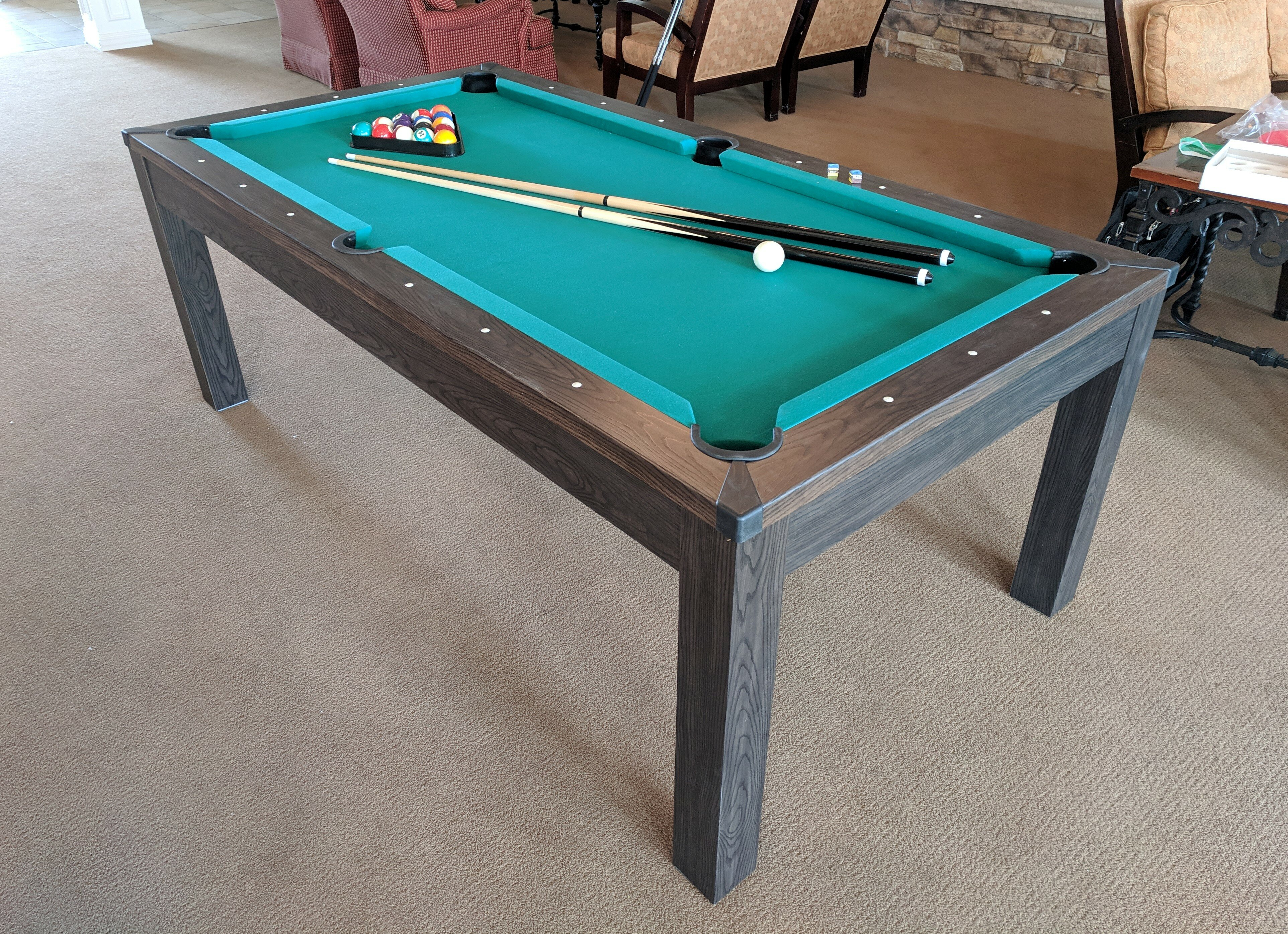 airzone play 3 in 1 7 multi game table wayfair exclusive w