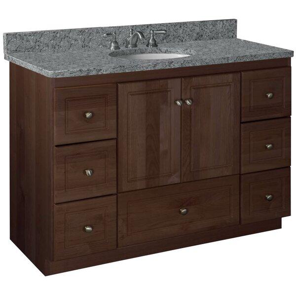 Simplicity 48 Bathroom Vanity Base by Strasser Woodenworks