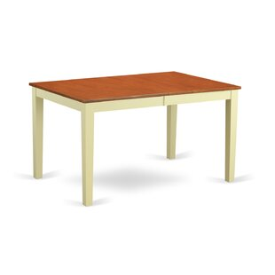 Compare prices Pillar Extendable Dining Table ByAugust Grove