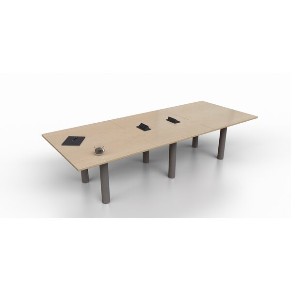 Rectangular 29.25H x 48W x 144L Conference Table by Trendway