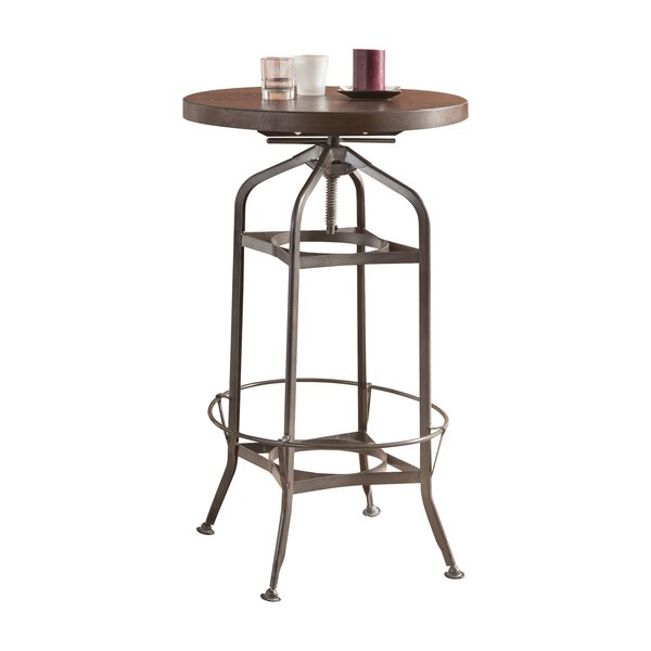 Find Gines Adjustable Pub Table By Williston Forge Comparison