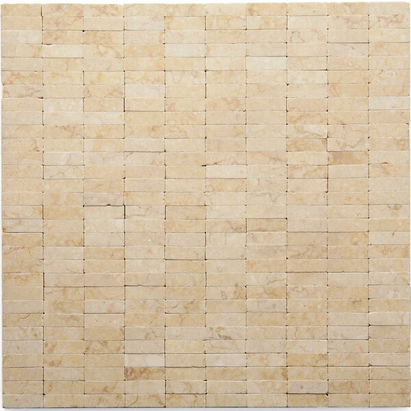Post Modern Marble Mosaic Tile in Sisley by Solistone