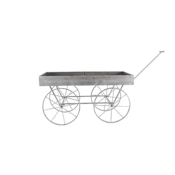 Wheelbarrow Planter by Cole & Grey
