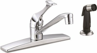 Single Handle Kitchen Faucet with Side Spray by Premier Faucet