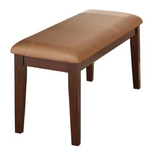 Yonkers Upholstered Bench by Alcott Hill