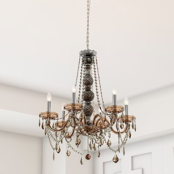 Doggett 6-Light Candle Style Classic / Traditional Chandelier by Astoria Grand Astoria Grand