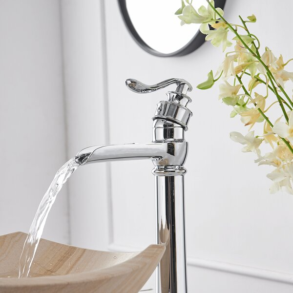 Vessel Sink Bathroom Faucet with Drain Assembly
