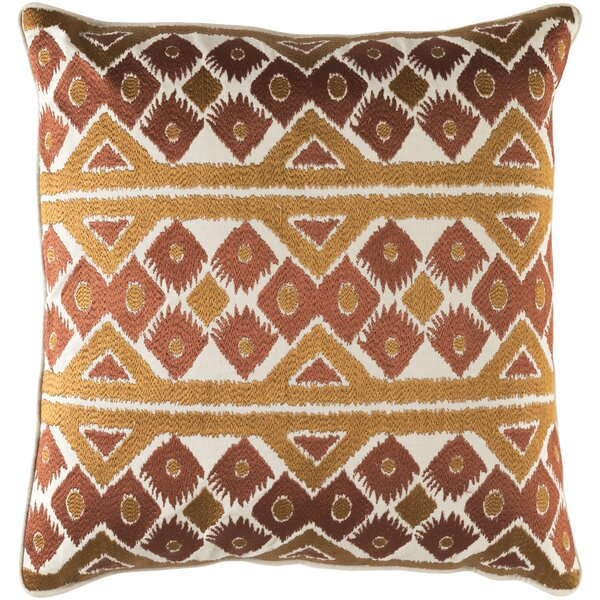 Cedro Cotton Throw Pillow by Loon Peak
