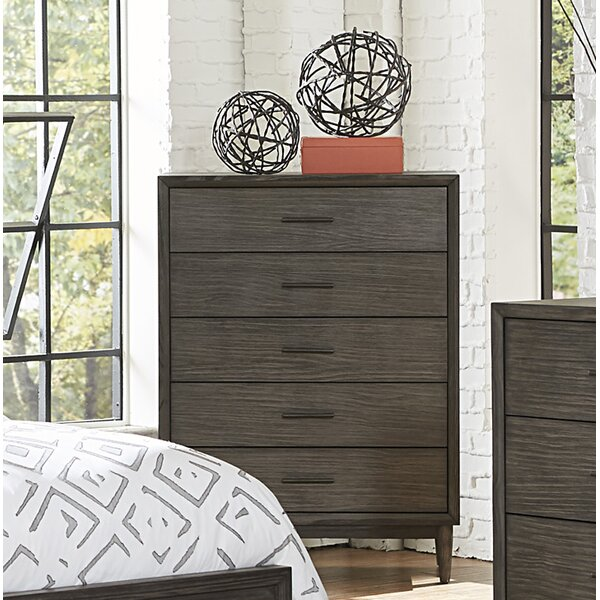 Beaverton 5 Drawer Chest by Wrought Studio