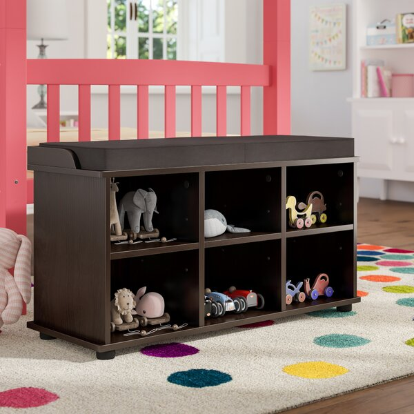 Stephaine 6 Cubby Storage Bench By Charlton Home®