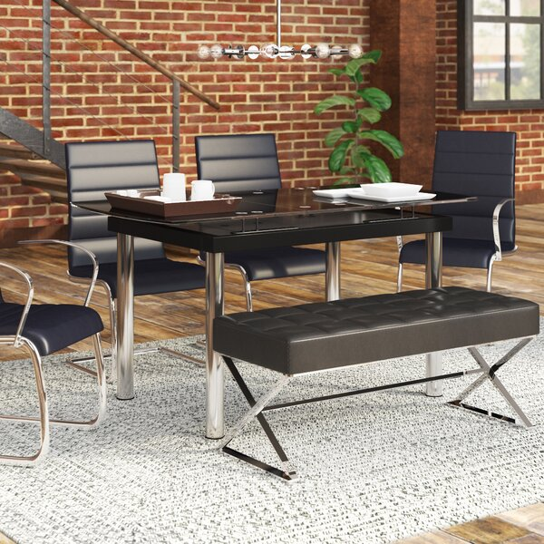 Effie Extendable Dining Table by Wade Logan Wade Logan