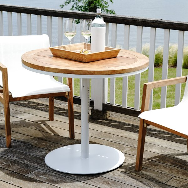 Catalina Outdoor 3-Piece Teak Bar Set by Hives and Honey Hives and Honey