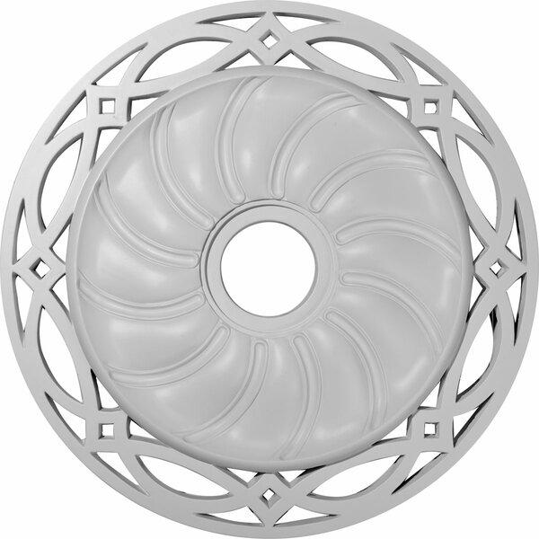 Loera 26 5/8H x 26 5/8W x 1 3/8D Ceiling Medallion by Ekena Millwork