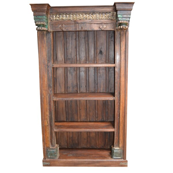 Stephanie Carved Standard Bookcase by World Menagerie
