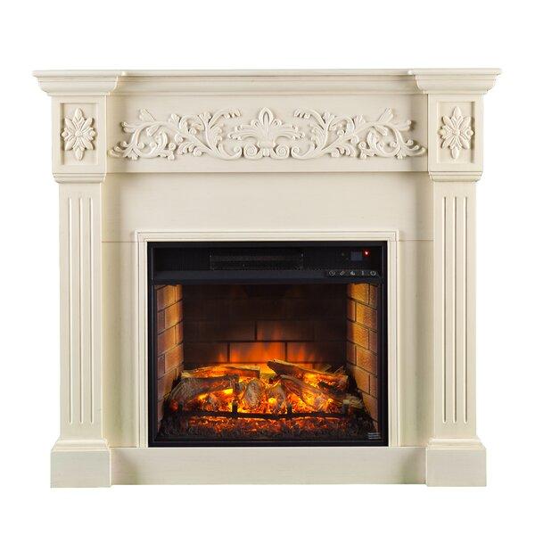 Shanks Veneer Electric Fireplace by Alcott Hill Alcott Hill