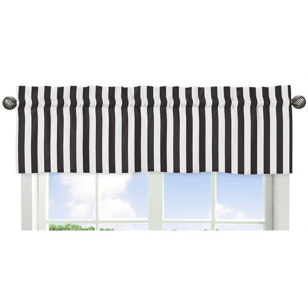 Paris Stripe 54 Window Valance by Sweet Jojo Designs
