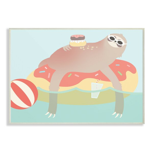 Harman Cartoon Lazy Sloth by Harriet Bee