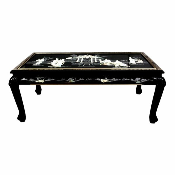 Conard Coffee Table with Claw Feet by Bloomsbury Market
