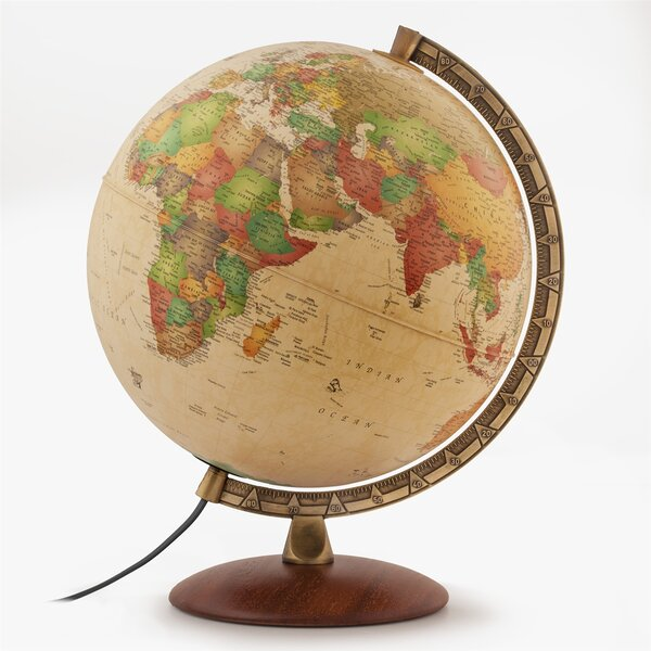 Pedestal Base Globe by Darby Home Co
