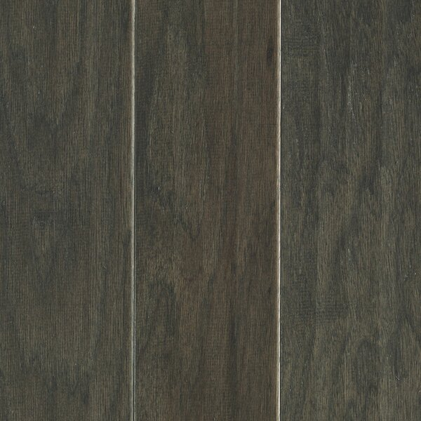 Hinsdale 5 Engineered Hickory Hardwood Flooring in Charcoal by Mohawk Flooring