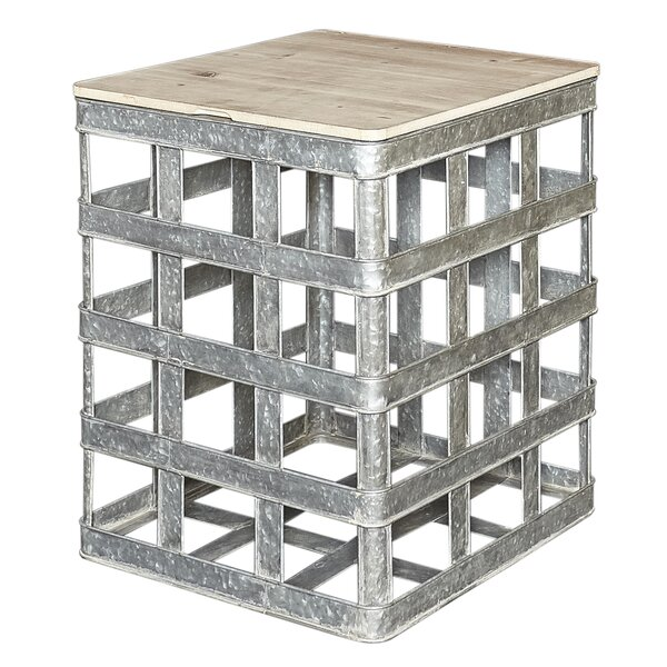 Aldana End Table With Storage By Williston Forge 2019 Sale