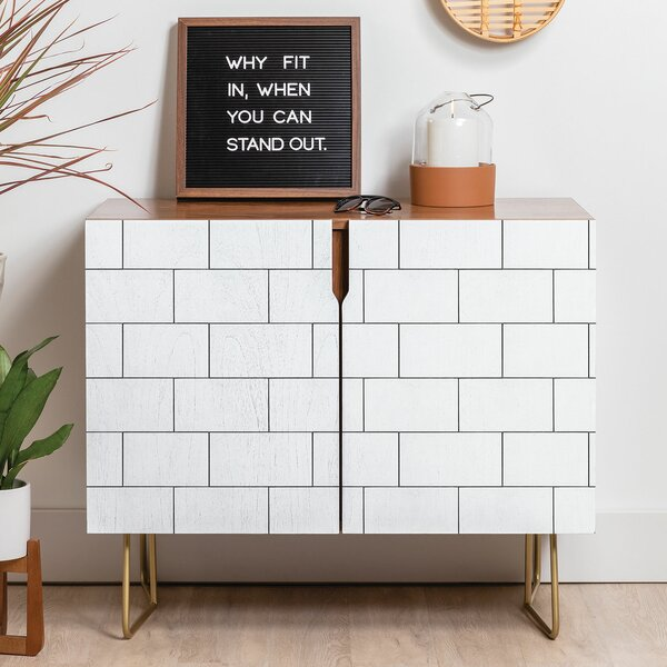 Brick Imperfection Sideboard by East Urban Home