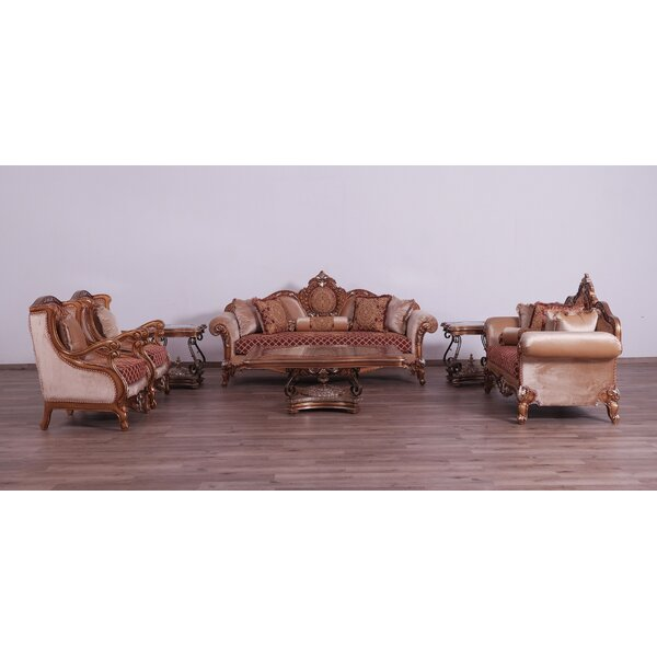 Phillips 3 Piece Living Room Set By Astoria Grand