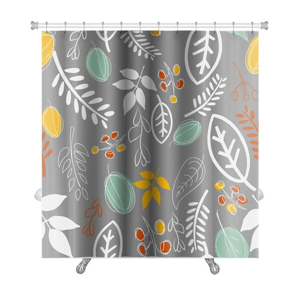 Leaves Leaf Premium Shower Curtain by Gear New