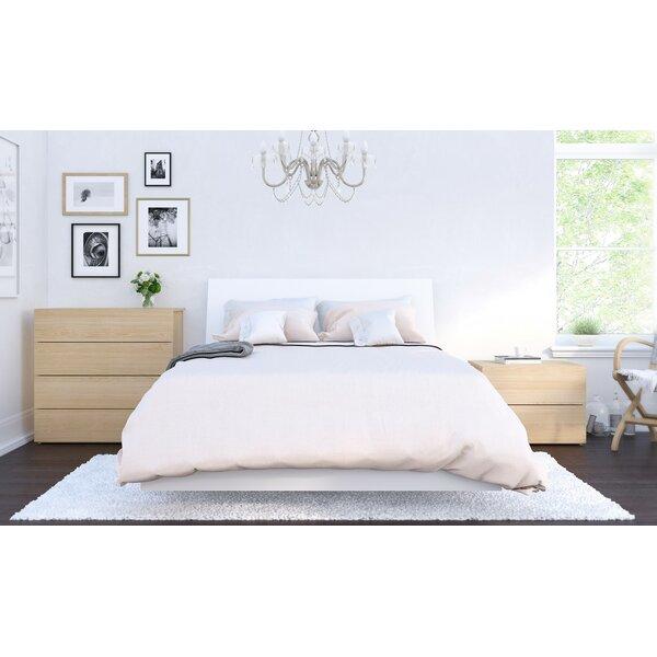 Norah Platform 3 Piece Bedroom Set by Wrought Studio