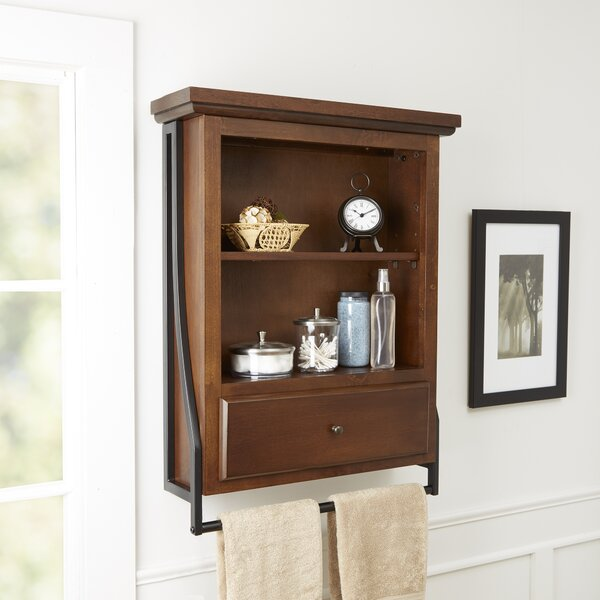 Andes 2-Tier 23.75 W x 31 H Wall Mounted Cabinet by Darby Home Co