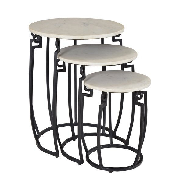 Candy 3 Piece Nesting Tables by Latitude Run