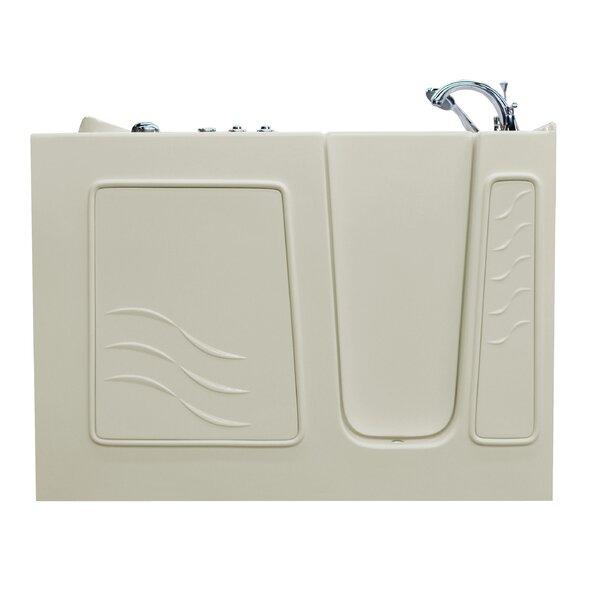 Santa Fe 53 x 26 Walk-In Whirlpool Bathtub by Therapeutic Tubs